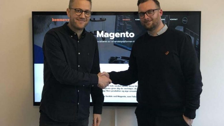 Magento kommerce ApS MCB Pressemeddelelse