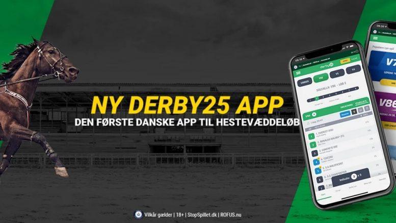 PRESSEMEDDELELSE Derby25 app'en den foerste danske app til hestevaeddeloeb