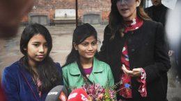 PRESSEMEDDELELSE H.K.H. Kronprinsessen gav sin stemme til slummens piger e1573300871778