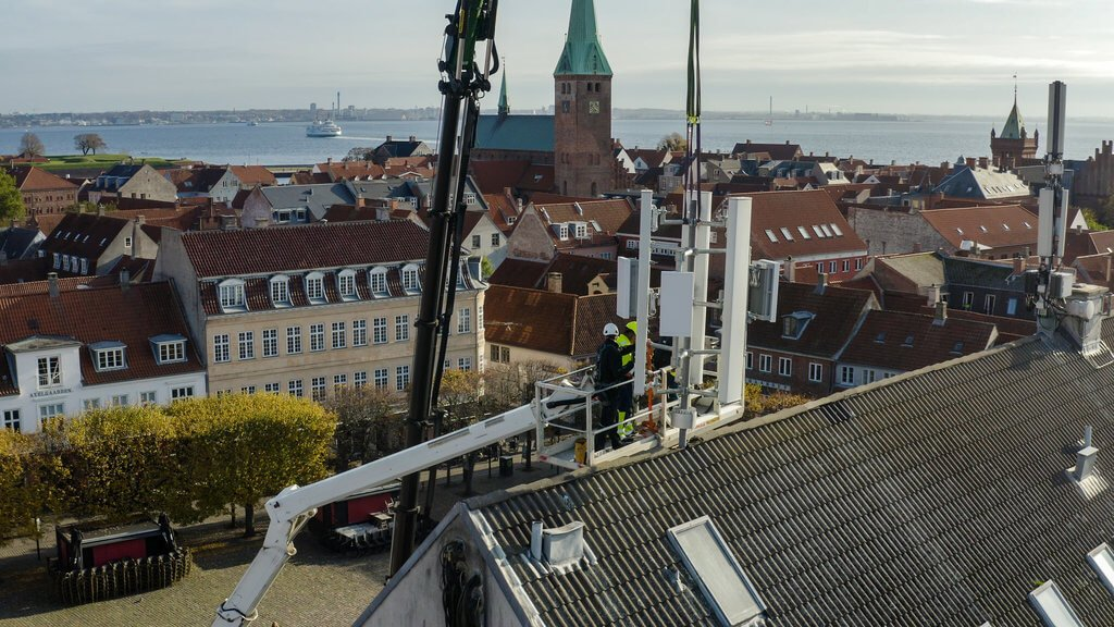 PRESSEMEDDELELSE TDC NET aabner 5G pilotprojekt i Helsingoer