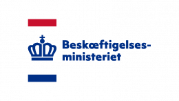 Pressemeddelelse Beskaeftigelsesministeriet Logo 10
