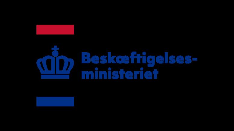 Pressemeddelelse Beskaeftigelsesministeriet Logo 3