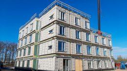 PRESSEMEDDELELSE PensionDanmark og Scandi Byg vil saette nye standarder for fremtidens byggeri