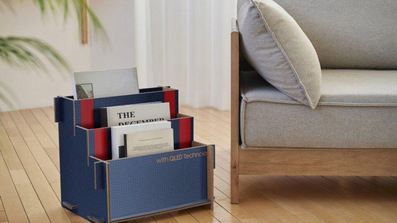 PRESSEMEDDELELSE Samsung introducerer baeredygtig indpakning af en raekke produkter