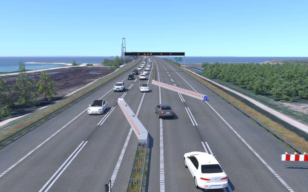 PRESSEMEDDELELSE Storebaelt skaerper trafiksikkerheden