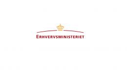 Pressemeddelelse Erhvervsministeriet Logo 1 3