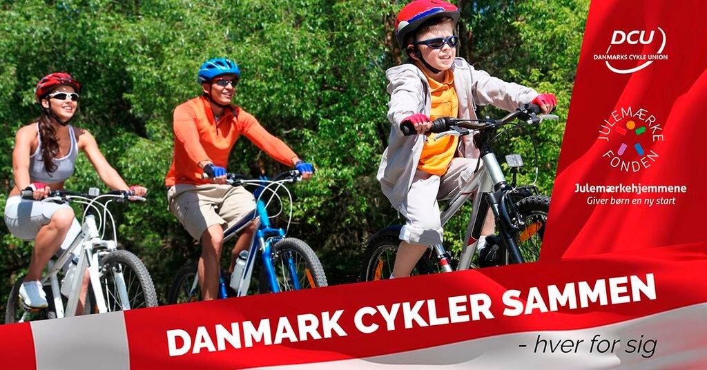 PRESSEMEDDELELSE Danmark cykler sammen hver for sig