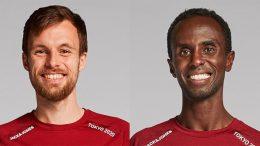 PRESSEMEDDELELSE To danske maratonloebere udtaget til OL