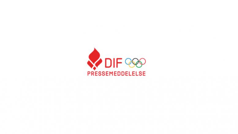 Pressemeddelelse Danmarks Idraetsforbund Logo