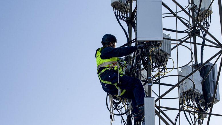 PRESSEMEDDELELSE Fremtidens mobilnetvaerk rulles ud i Favrskov Kommune