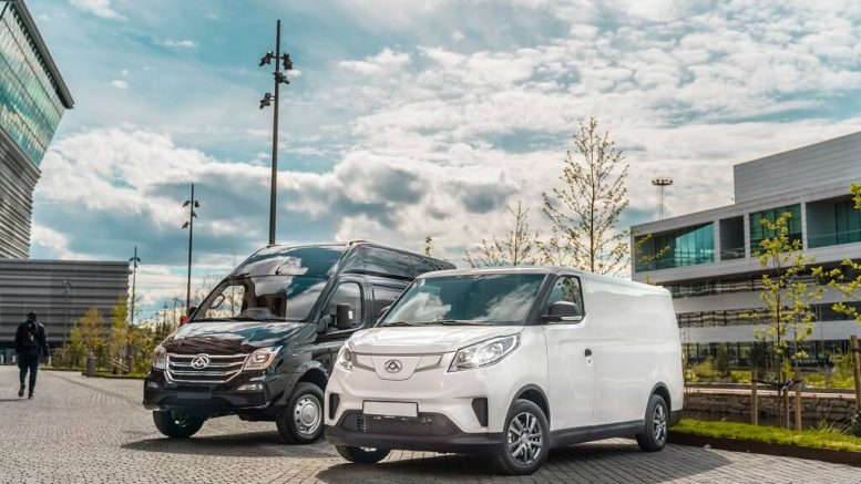 PRESSEMEDDELELSE Nu kommer elektriske biler fra Maxus til Danmark
