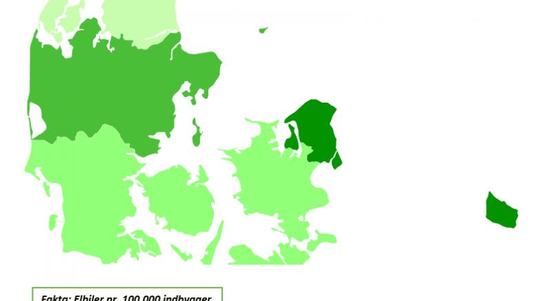 PRESSEMEDDELELSE Hvor i Danmark bor elbilejerne