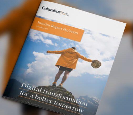 PRESSEMEDDELELSE Columbus leverer 23 procent EBITDA fremgang i Q2