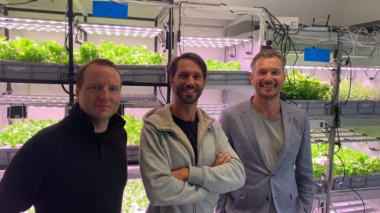 PRESSEMEDDELELSE Foodtech startup henter kommerciel direktoer hjem fra London