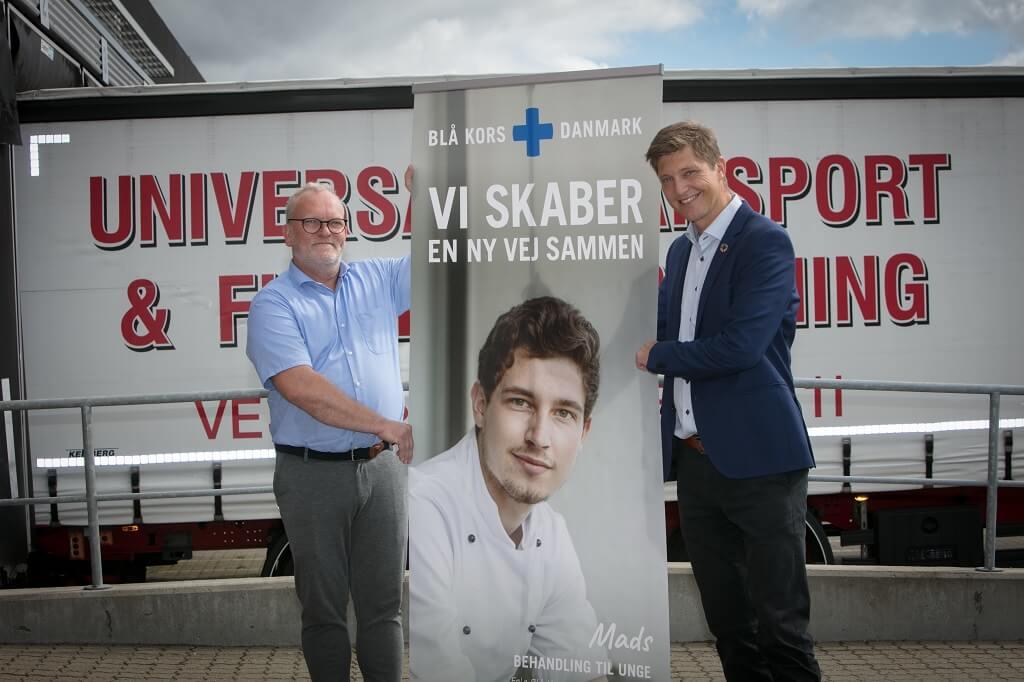 PRESSEMEDDELELSE Blaa Kors og Universal Flytteforretning samarbejder om at hjaelpe udsatte i Danmark