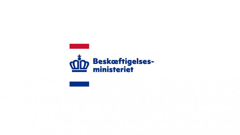 Pressemeddelelse Beskaeftigelsesministeriet Logo 800x500 3