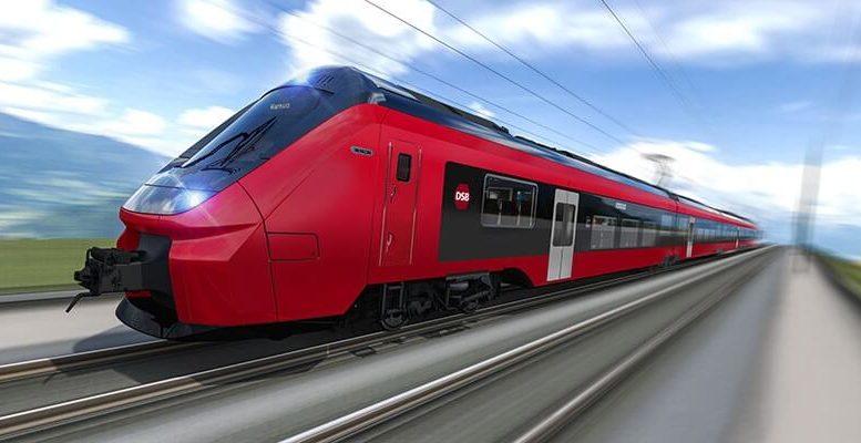PRESSEMEDDELELSE El togsaet fra Alstom skal koere DSB ind i fremtiden